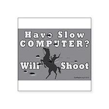Slow Computer Sticker
