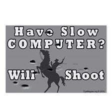 Slow Computer Postcards (Package of 8)