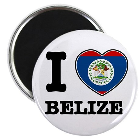 """I love Belize 2.25"""" Magnet (100 pack)"""