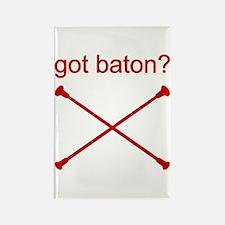 GOT BATON? Rectangle Magnet
