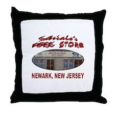 Satriale's Pork Store Throw Pillow