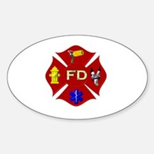 Fire department symbol Decal