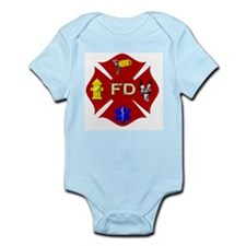 Fire department symbol Body Suit