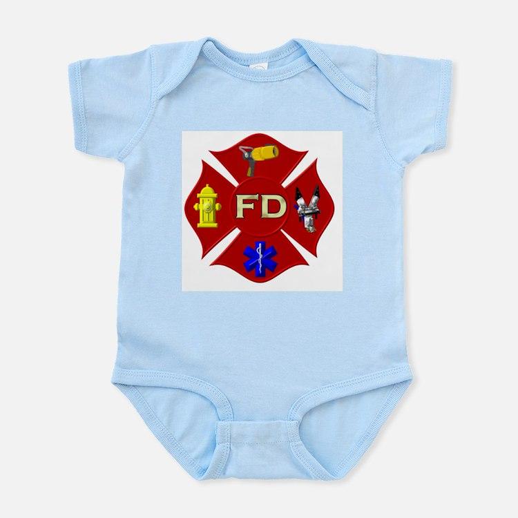 Fire department symbol Body Suit