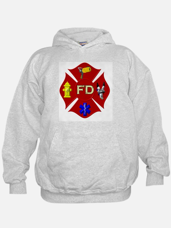 Fire department symbol Hoodie