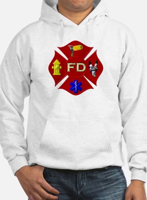 Fire department symbol Hoodie