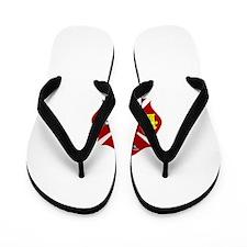 Fire department symbol Flip Flops