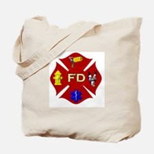 Fire department symbol Tote Bag