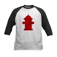 Red fire hydrant Baseball Jersey