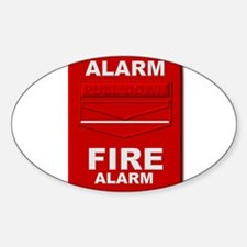 Alarm box red Decal