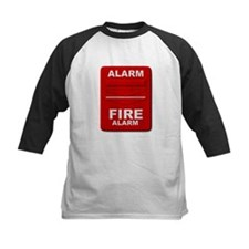 Alarm box red Baseball Jersey
