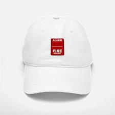 Alarm box red Baseball Baseball Cap