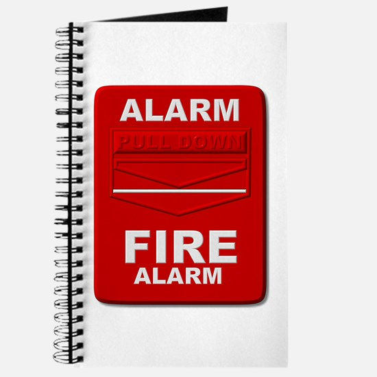 Alarm box red Journal