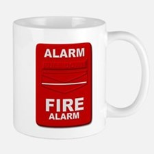 Alarm box red Mugs