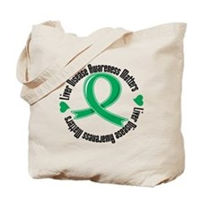 Liver Disease Tote Bag