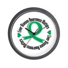 Liver Disease Wall Clock