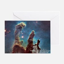 Pillars of Creation  - 25 Years of H Greeting Card