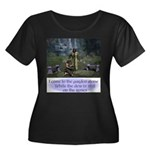 In the Garden - Scoop Neck Dark T-Shirt
