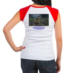 In the Garden - Women's Cap Sleeve T-Shirt
