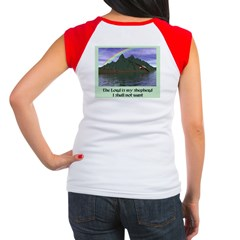 The Lord is My Shep - Women's Cap Sleeve T-Shirt