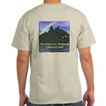 The Lord is My Shepherd Version 2 Light T-Shirt