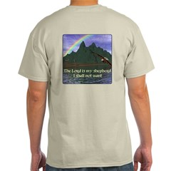 The Lord is My Shepherd Version 2 T-Shirt