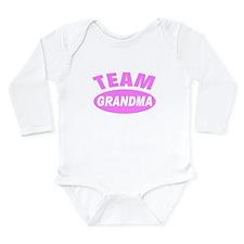 Cute Breast cancer Long Sleeve Infant Bodysuit