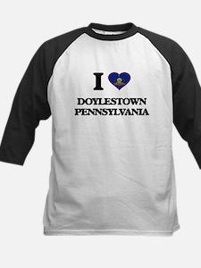 I love Doylestown Pennsylvania Baseball Jersey