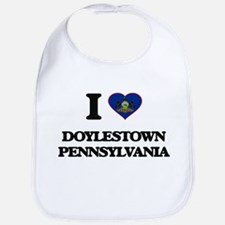 I love Doylestown Pennsylvania Bib