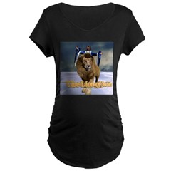 Lion of Judah - Maternity Dark T-Shirt