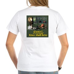 Every Knee Shall Bow-Women's VNeck T