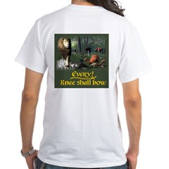 Every Knee Shall Bow - White T