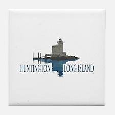 Huntington - Long Island New York. Tile Coaster