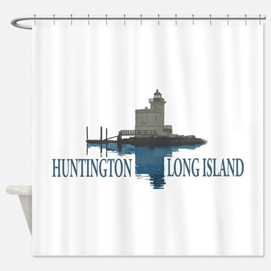 Huntington - Long Island New York. Shower Curtain