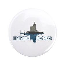 Huntington - Long Island New York. Button
