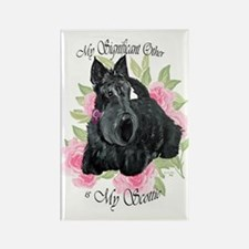 Signicant Scottie Rectangle Magnet (10 pack)