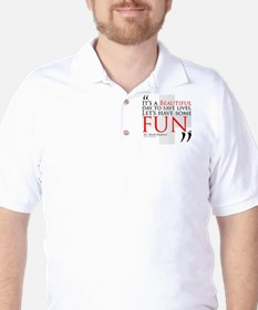 Beautiful Day to Save Lives Golf Shirt