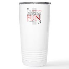 Beautiful Day to Save Lives Ceramic Travel Mug