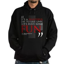 Beautiful Day to Save Lives Dark Hoody