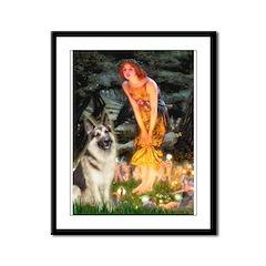 Fairies / G-Shep Framed Panel Print