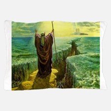 Moses MIracle at the Red Sea Israel Pr Pillow Case