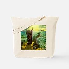 Moses MIracle at the Red Sea Israel Promi Tote Bag
