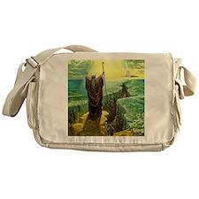 Moses MIracle at the Red Sea Israel Messenger Bag