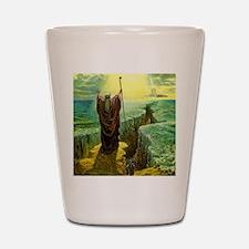 Moses MIracle at the Red Sea Israel Pro Shot Glass