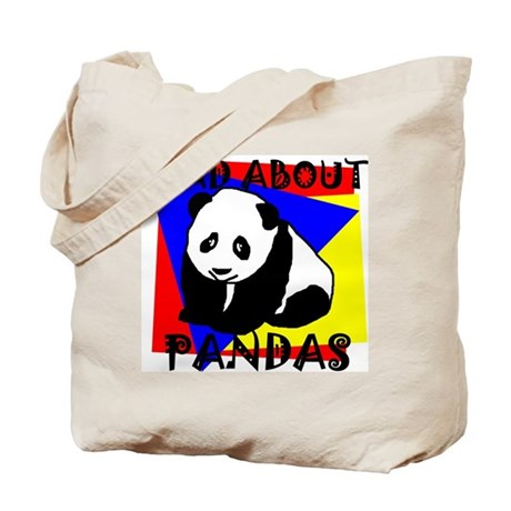 MAD ABOUT PANDAS Tote Bag