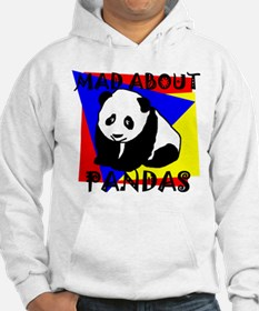 MAD ABOUT PANDAS Hoodie