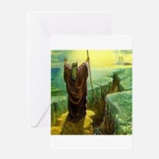 Moses MIracle at the Red Sea Israel Greeting Cards