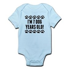 Im 7 Dog Years Old Body Suit