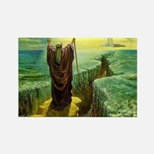 Moses MIracle at the Red Sea Israel Promis Magnets