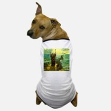 Moses MIracle at the Red Sea Israel Pr Dog T-Shirt